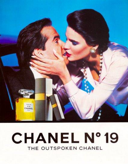 Chanel Perfumes, vintage ad