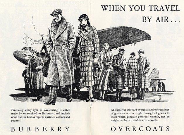 Reklama Burberry, 1938