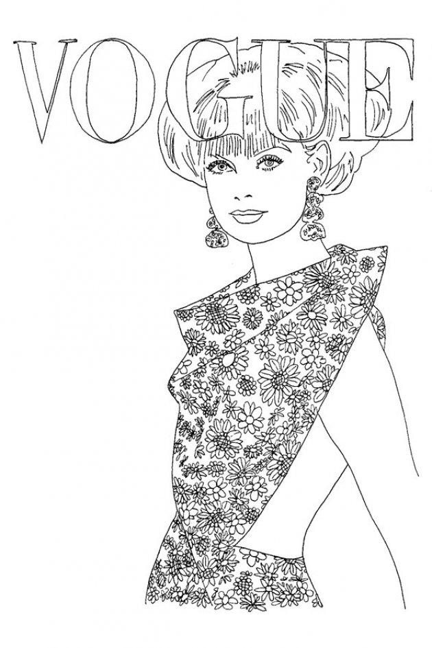 Vogue A To Z Coloring Book VOGUE Goes Pop Kolejna edycja modnej kolorowanki Covet