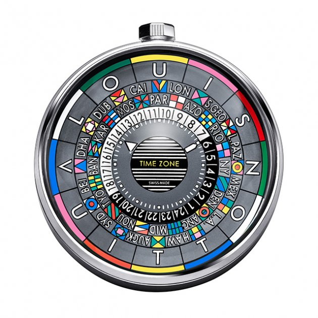 Louis Vuitton Escale Time Zone Table Clock