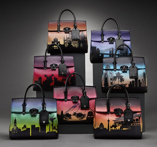 Versace Seven Bags for Seven Cities