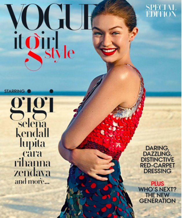 VOGUE US Special Edition It Girl Style Fall 2016​