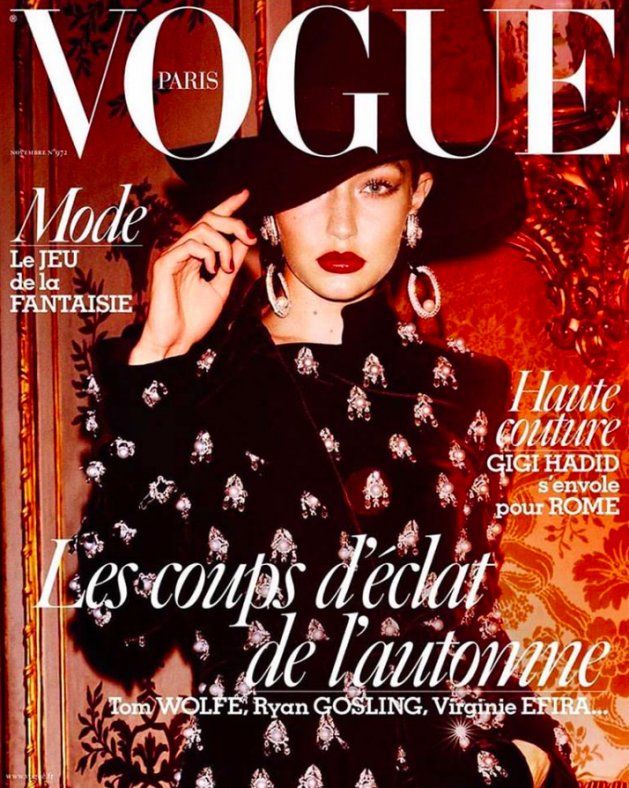 VOGUE Paris, listopad 2016