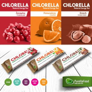 Chlorella Natural Energy Bar PurellaFood