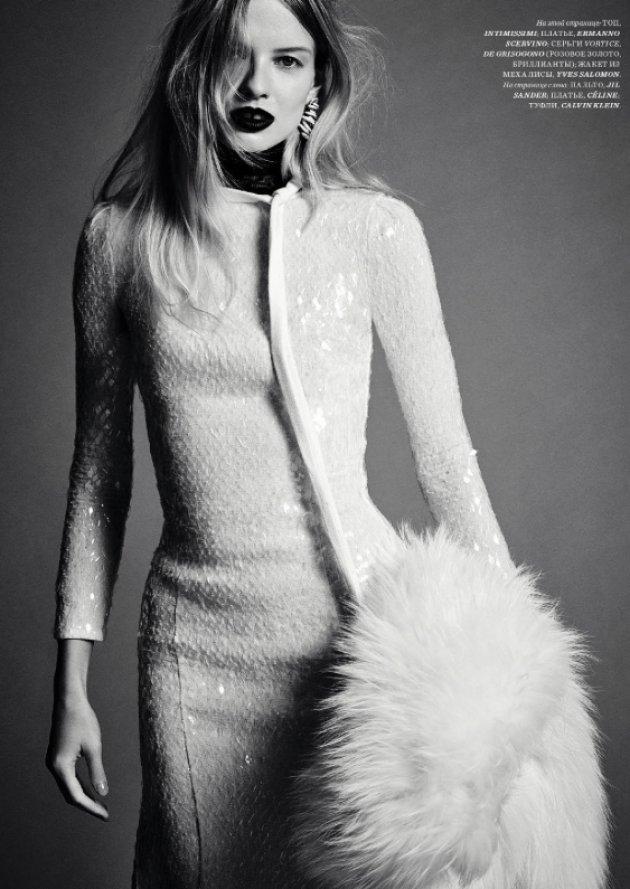 Harper's Bazaar Russia, grudzień 2016
