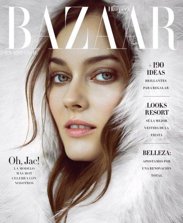 Harper's Bazaar Mexico, grudzień 2016