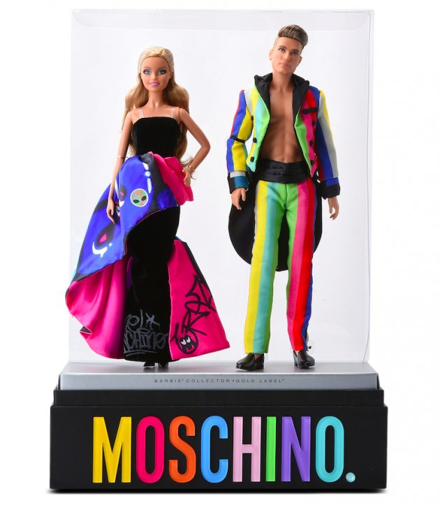Moschino Barbie & Ken Gift Set