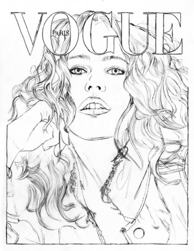 VOGUE à colorier / VOGUE Paris