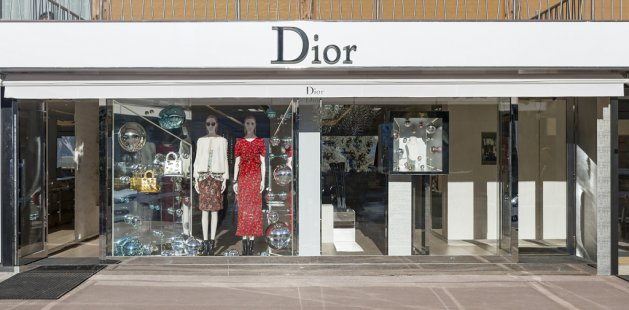 Dior w Courchevel