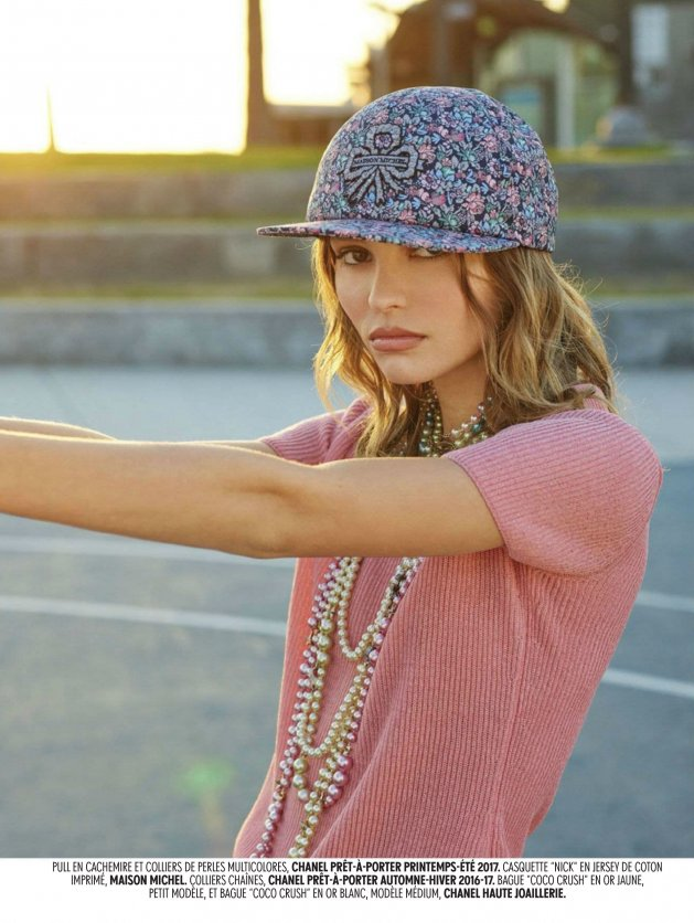 Jalouse December 2016 / January 2017, Lily-Rose Depp by David Mushegain