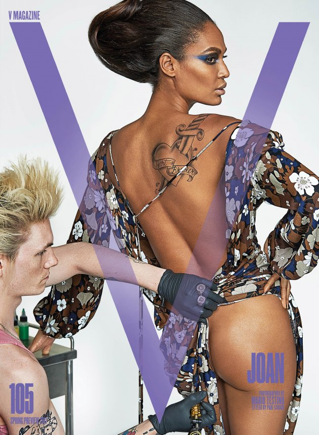 V Magazine #105 fot. Mario Testino
