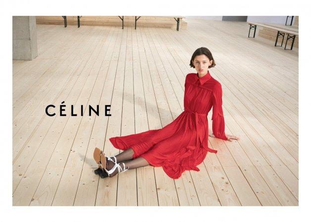 Céline SS 2017 by Juergen Teller