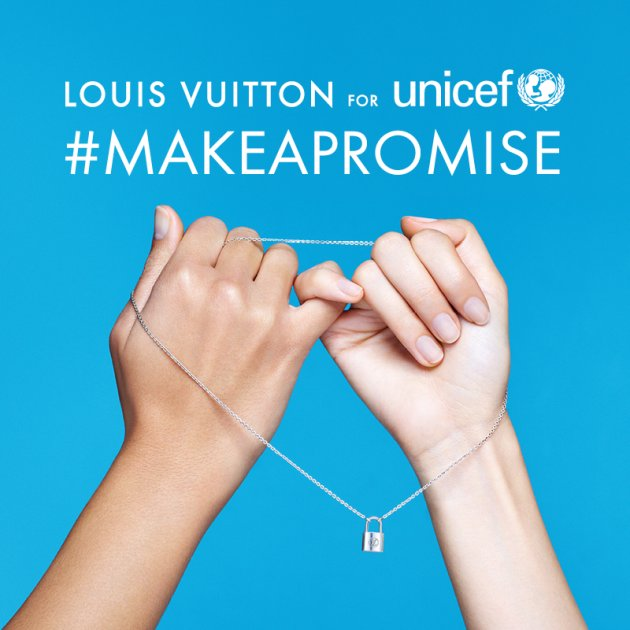 Louis Vuitton #MakeAPromise Day