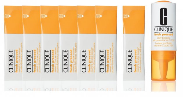 Clinique Fresh Pressed Renewing Powder Cleanser z witaminą C