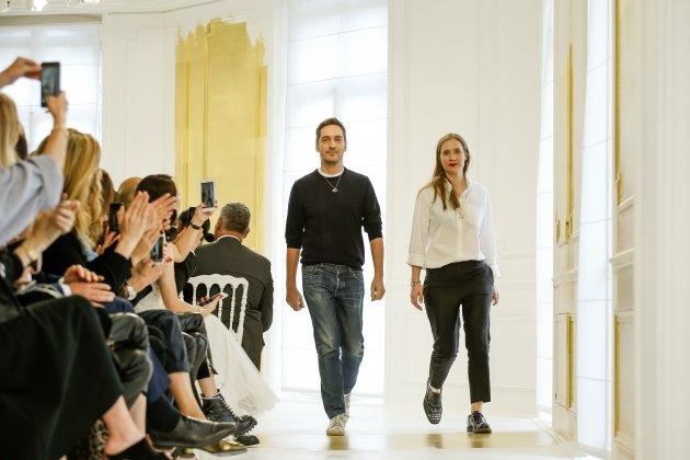 Lucie Meier dla Dior