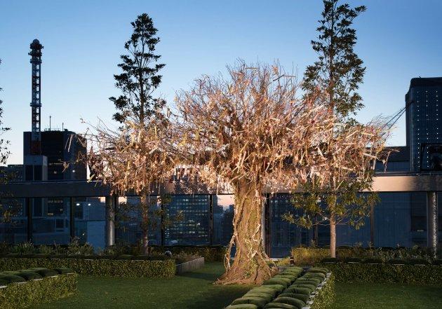 Dior HC ss 2017 Jardin Japonais