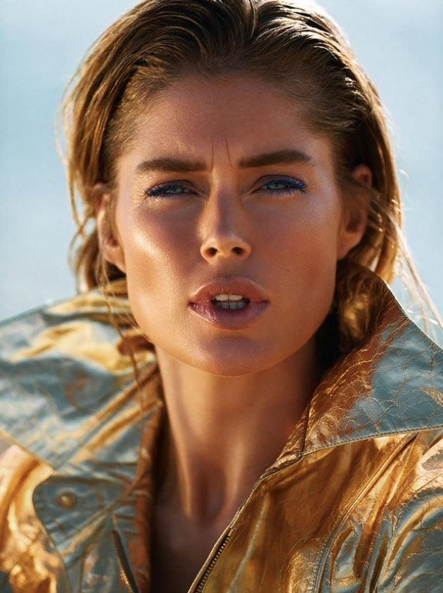 Doutzen Kroes by Gilles Bensimon, VOGUE Paris June / July 2015