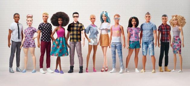 Barbie & Ken Fashionistas