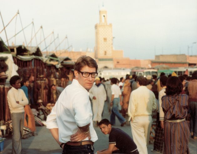 Yves Saint Laurent w Marrakeszu