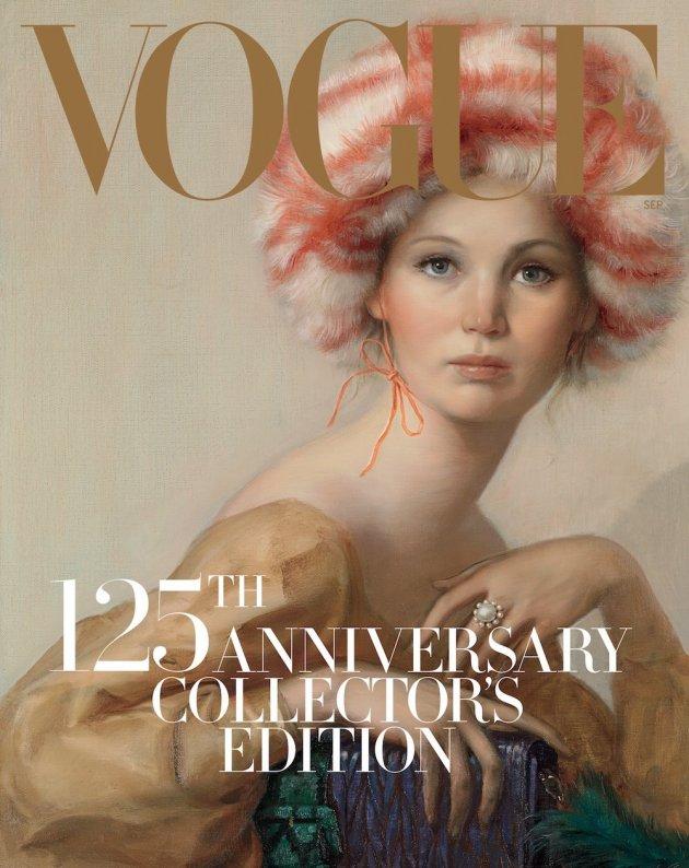 US VOGUE September 2017: Jennifer Lawrence by Rob McKeever