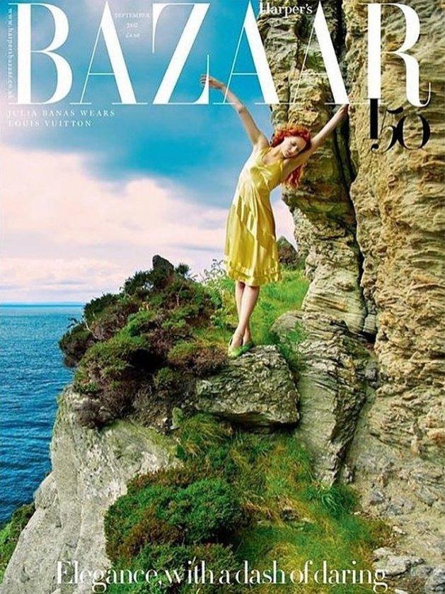 Harper's Bazaar UK, wrzesień 2017