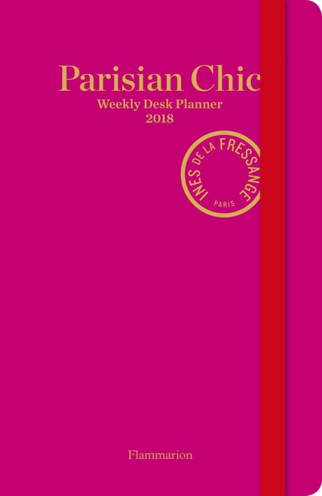 Parisian Chic Weekly Desk Planner 2018