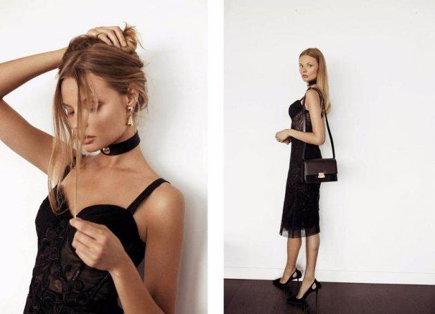 Magdalena Frąckowiak dla Luisaviaroma.com