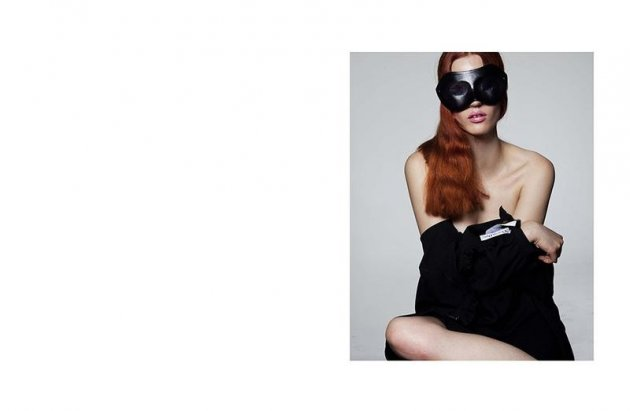 Lip Gloss: Julia Banaś dla Numéro Berlin, November 2017