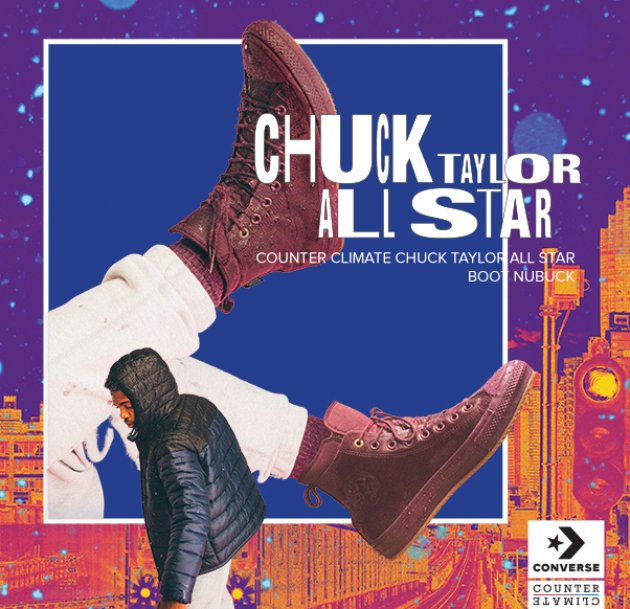 Converse Chuck Taylor All Star Waterproof Nubuck