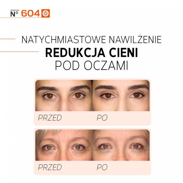 Vita C Infusion rozświetlający krem pod oczy N° 604