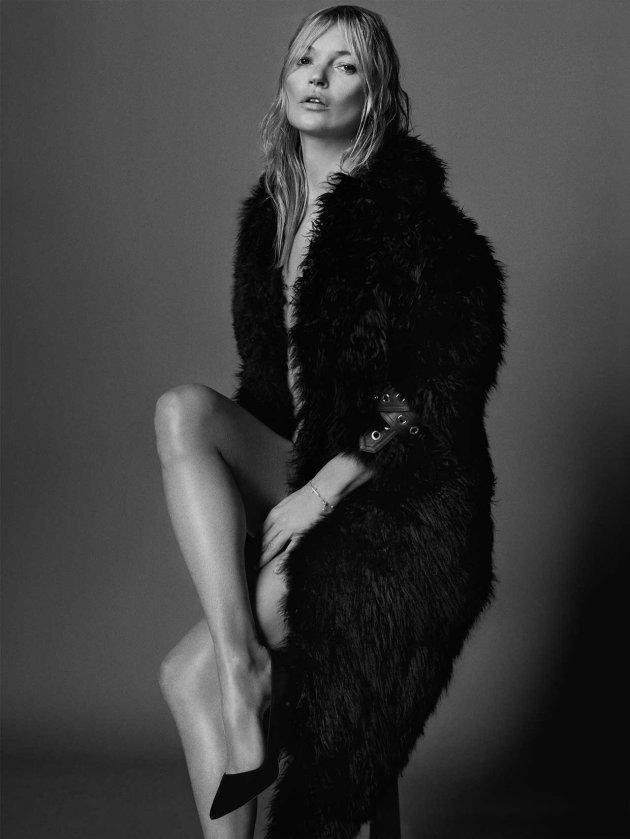 Kate Moss by Mario Testino, VOGUE UK, September 2017