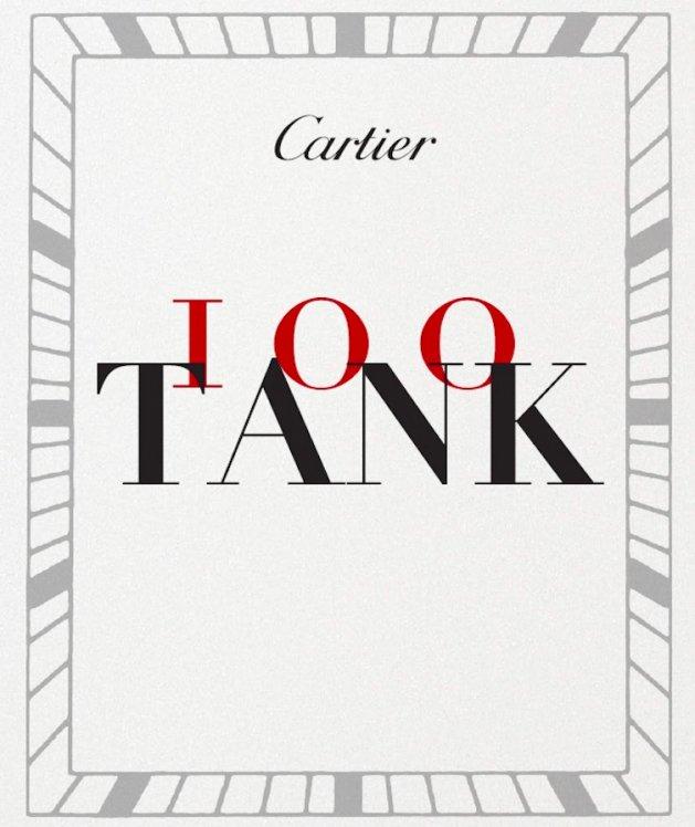 Cartier 100 Tank