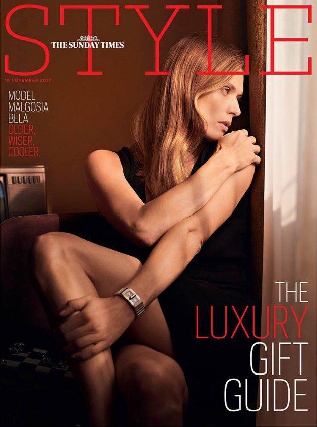 The Sunday Times Style November 19th 2017: Małgosia Bela by Ward Ivan Rafik