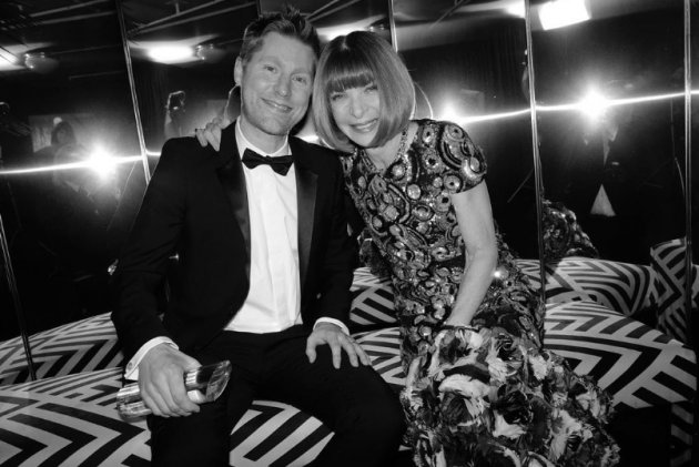 British Fashion Awards 2017 : Christopher Bailey & Anna Wintour