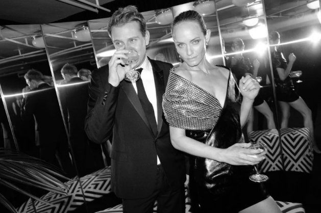 British Fashion Awards 2017 : Jonathan Anderson & Amber Valletta