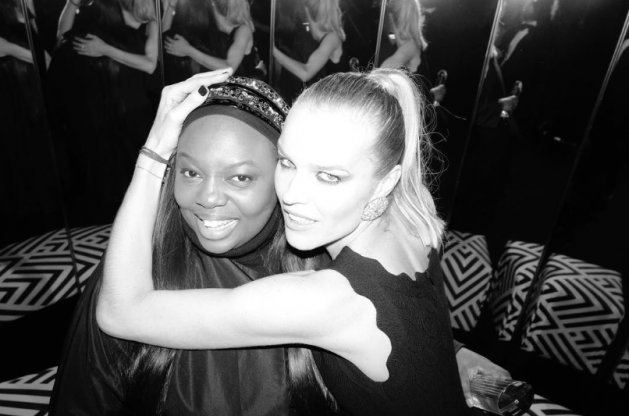 British Fashion Awards 2017 : Pat McGrath & Eva Herzigova