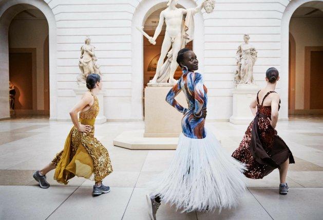 Lupita Nyong'o by Mikaeal Jansson, US VOGUE, January 2018