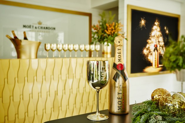 Ogród zimowy Moët & Chandon we Flaming & Co.