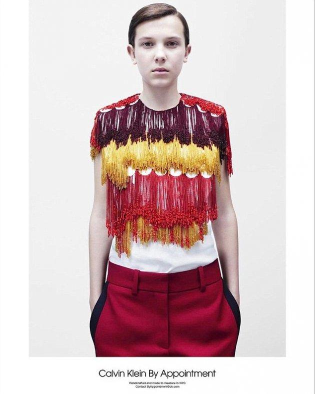 Millie Bobby Brown w kampanii Calvin Klein