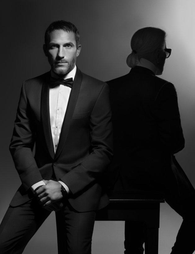 Sebastien Jondeau for Karl Lagerfeld