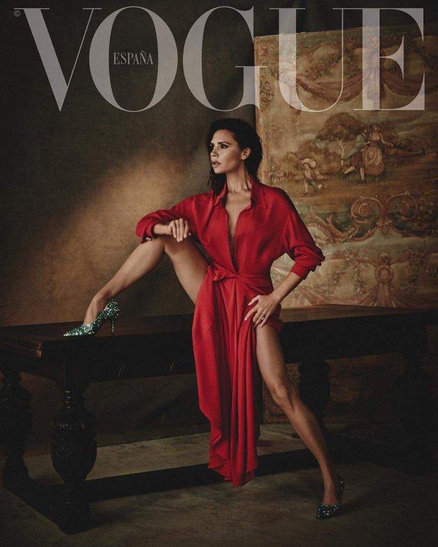Victoria Beckham by Boo George, VOGUE España February 2018