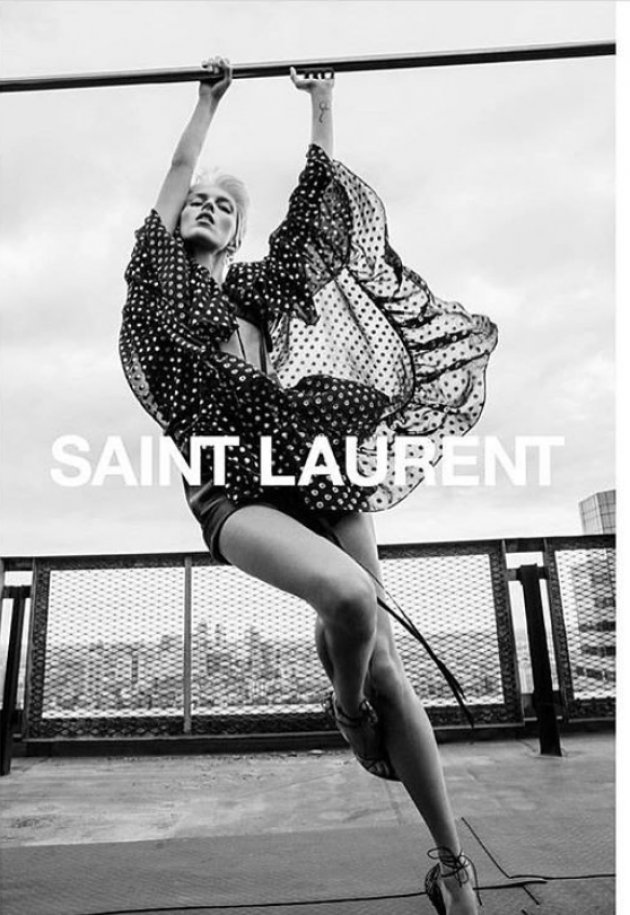 Saint Laurent summer 2018