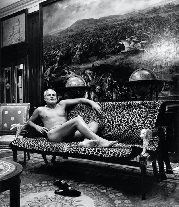 Helmut Newton: Naked With a Fur Coat