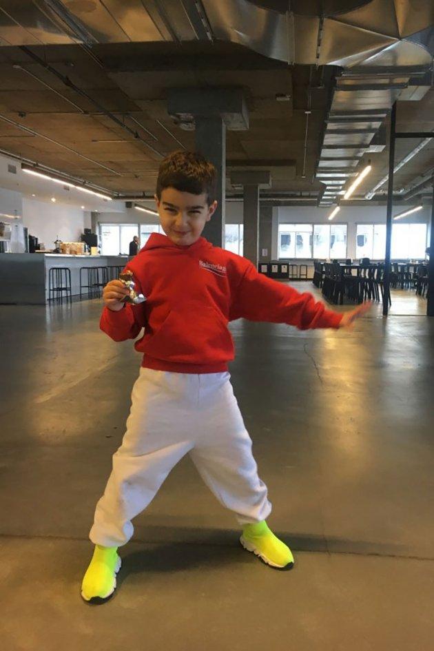Balenciaga Kids ss 2018