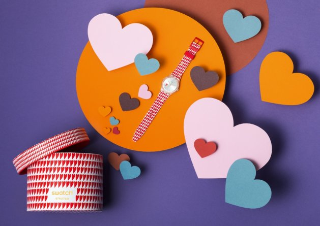Swatch Hearty Love