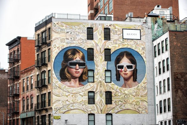 GUCCI Art Walls