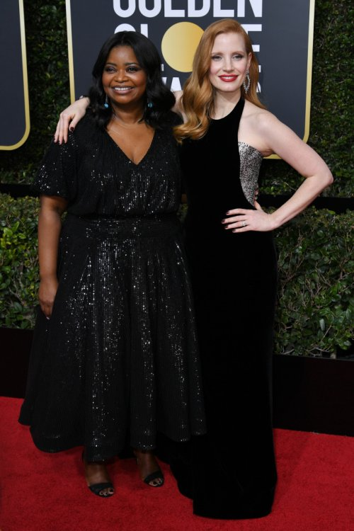 Octavia Spencer & Jessica Chastain