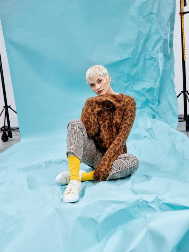 Evelina Gralak dla Converse One Star Spring 2018