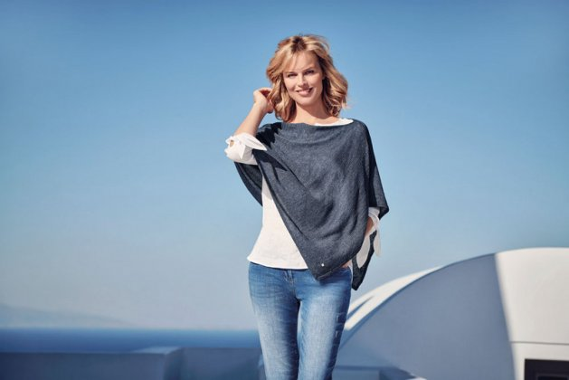 Eva Herzigova selected for GERRY WEBER ss 2018