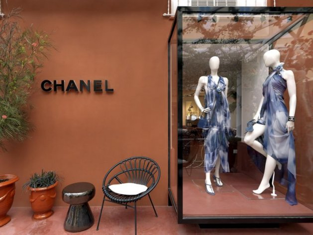 Pop-up butik Chanel na Capri